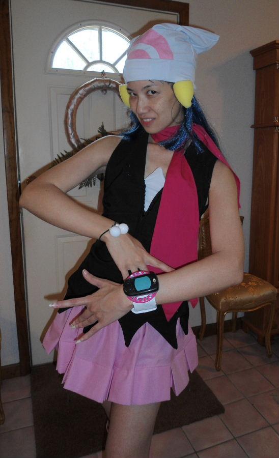 Dawn From Pokemon Costume