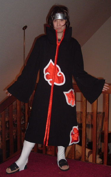 Itachi Anbu From Naruto Costume Cosplay