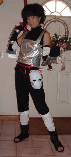 Itachi Anbu From Naruto Costume Cosplay