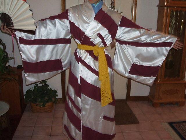 Kimono With Tassels