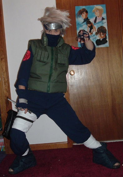 Hatake Kakashi From Naruto Costume Cosplay