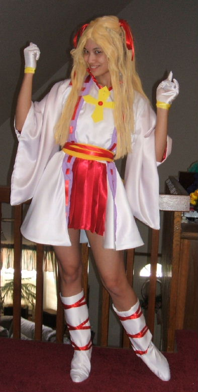 Kamikaze Kaitou Jeanne Costume Cosplay