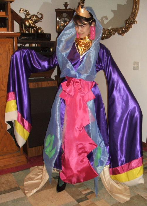 Lady Vega Costume Cosplay