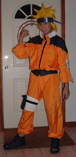 Naruto from Naruto Costume Cosplay