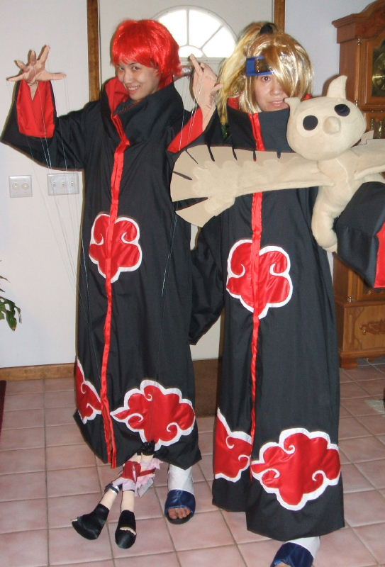Deidara From Naruto Costume Cosplay