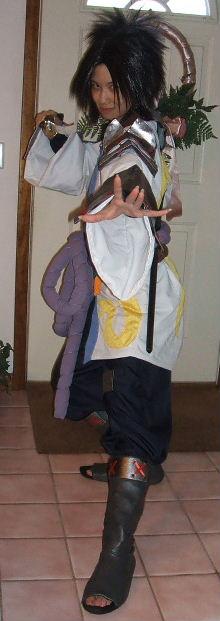 Sasuke Ryujinki From Naruto Costume Cosplay