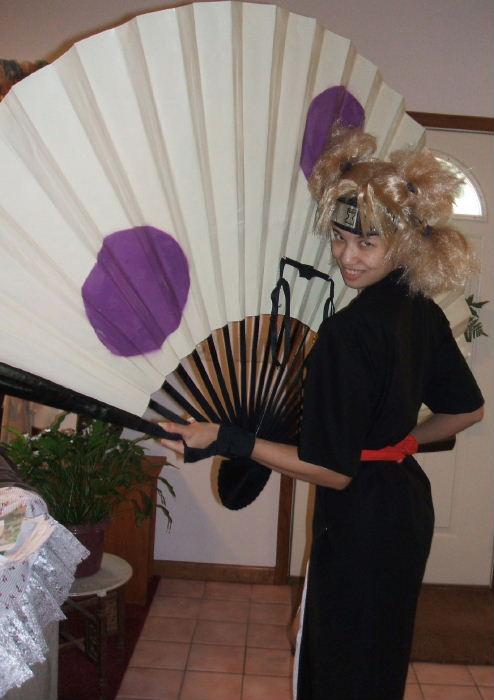 Black And Red >> Temari 2 from Naruto Costume Cosplay