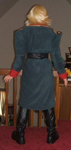 Gundam S Zeon Officer Costume Cosplay