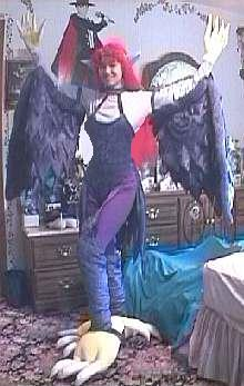 Harpy Lady Costume From Yu Gi Oh