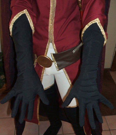 Red Whirlwind Costume Cosplay