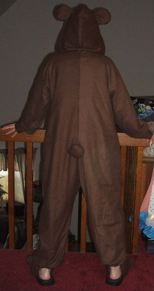 lain in bear pajamas costume cosplay