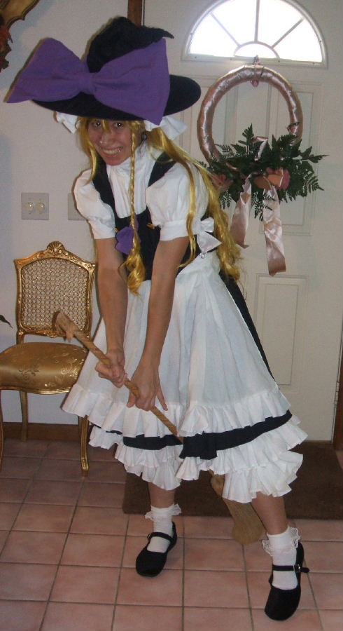 Marisa Costume Cosplay