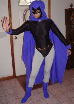 Manga Cosplay on Raven Teen Titans Costume Cosplay