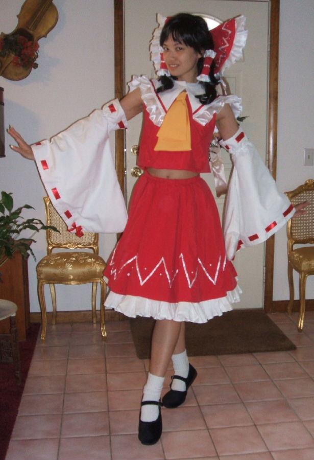 reimu costume cosplay
