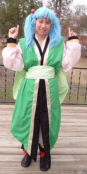 Tenchi Muyo Sasami Costume Cosplay