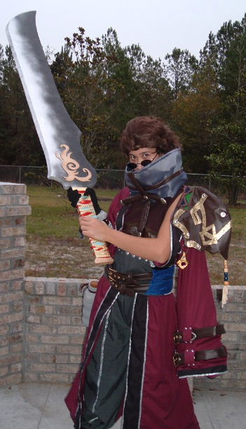 Auron From Final Fantasy X Costume