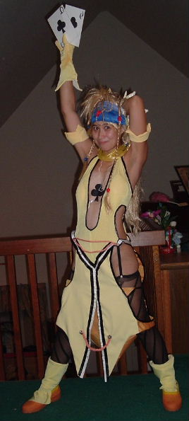 Lady Luck Rikku From Final Fantasy X 2 Costume