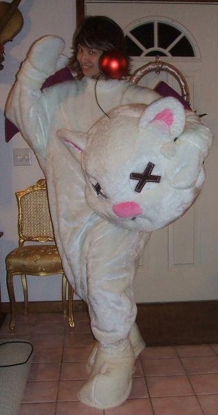 Moogle Mascot Yuna Costume Cosplay