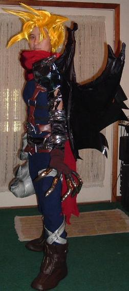 Cloud Strife Kingdom Hearts Costume