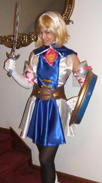 soul calibur cassandra costume cosplay