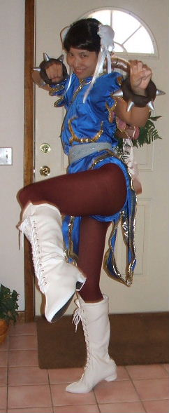 Street Fighter Chun Li Costume Cosplay