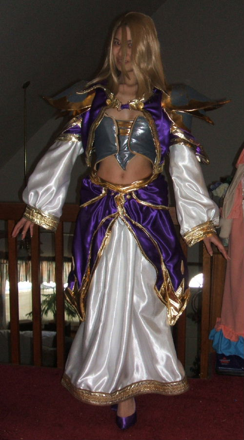 Jaina Proudmoore Costume From World Of Warcraft Costume