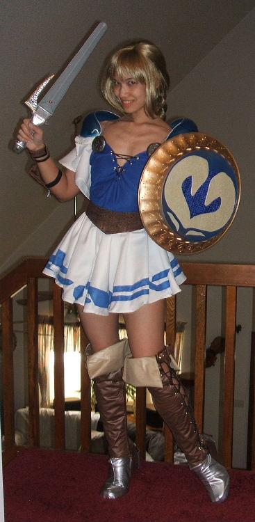 Soul Calibur Sophitia Costume Cosplay
