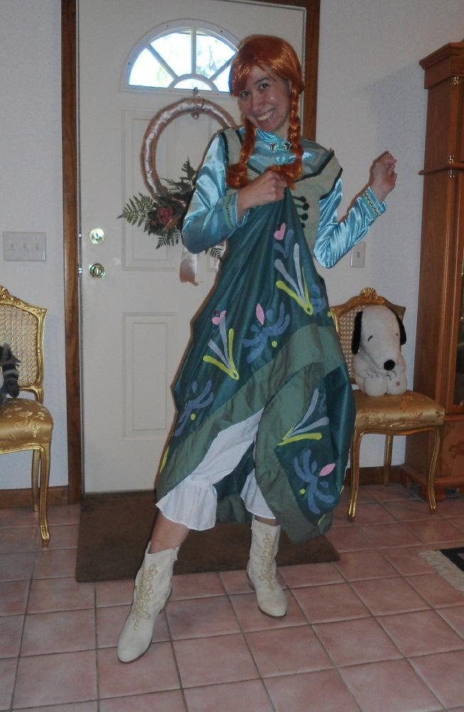 Princess Anna Casual Costume