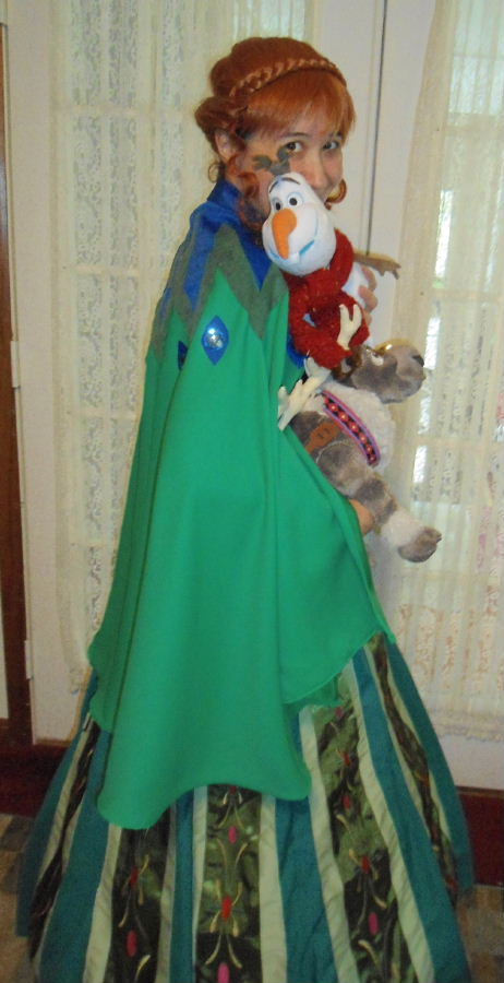 Princess Anna Coronation Costume
