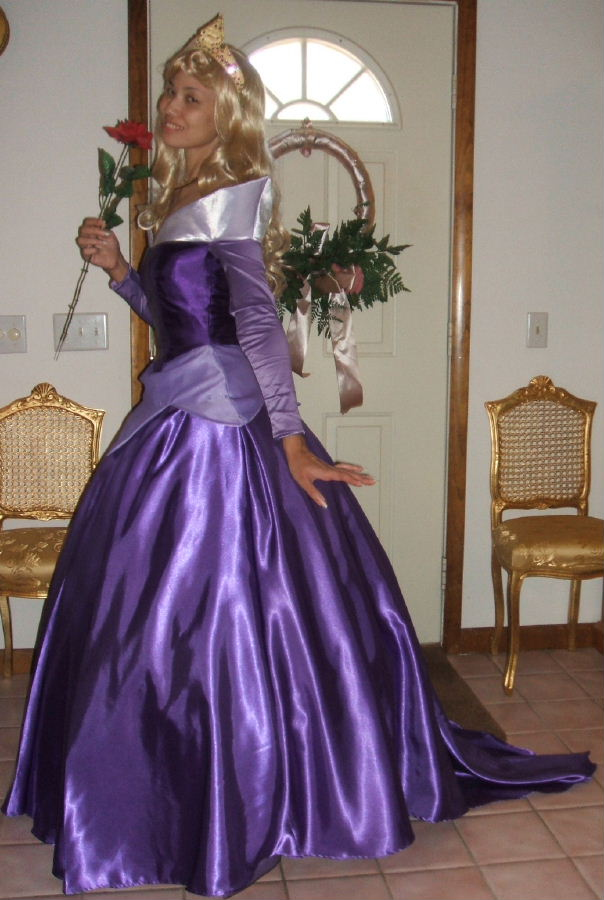 princess aurora kh costume