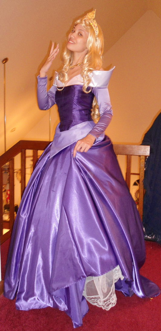 Purple Princess Princess Aurora KH Cos...
