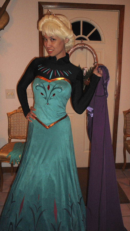 Queen Elsa Coronation Costume