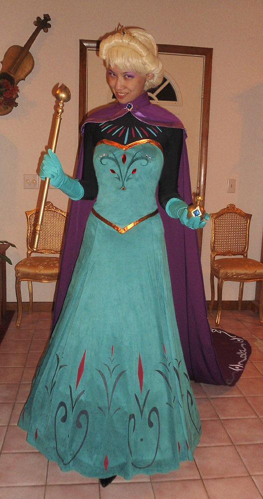 Queen Elsa Coronation Costume