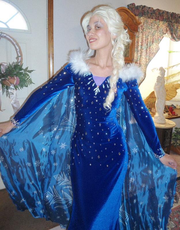 Winter Queen Elsa Costume