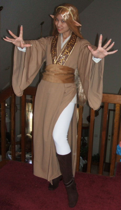 Fay Jedi Costume Cosplay