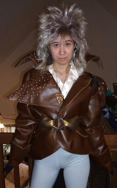 Jareth Costume From Labyrinth