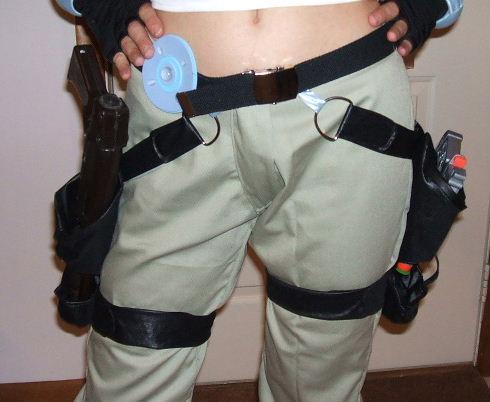 Lara Croft Version 3 Costume Cosplay