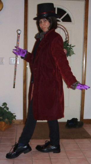 Willie Wonka Costume Cosplay
