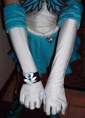 Dark Sailor Mercury Costume Cosplay