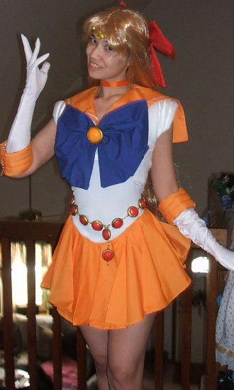 The Edge Orange >> PGSM Sailor Venus Costume