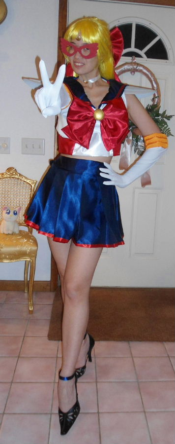 sailor v costume cosplay