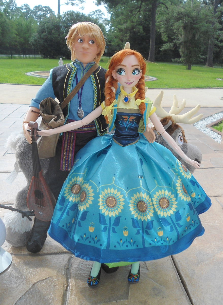 """Your First Time >> Princess Anna Summer Birthday 17"""" Singing Doll"""