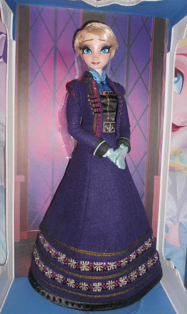 "Purple Princess Princess Elsa 17""..."