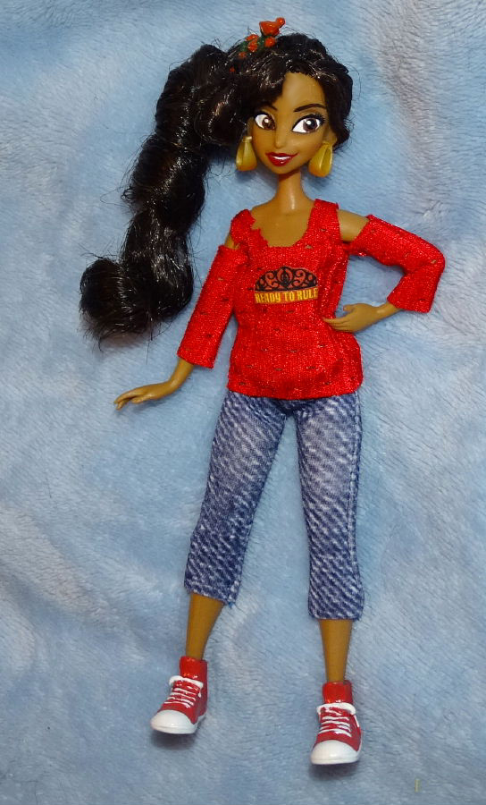 """Comfy Princess Elena 6"""" Doll"""