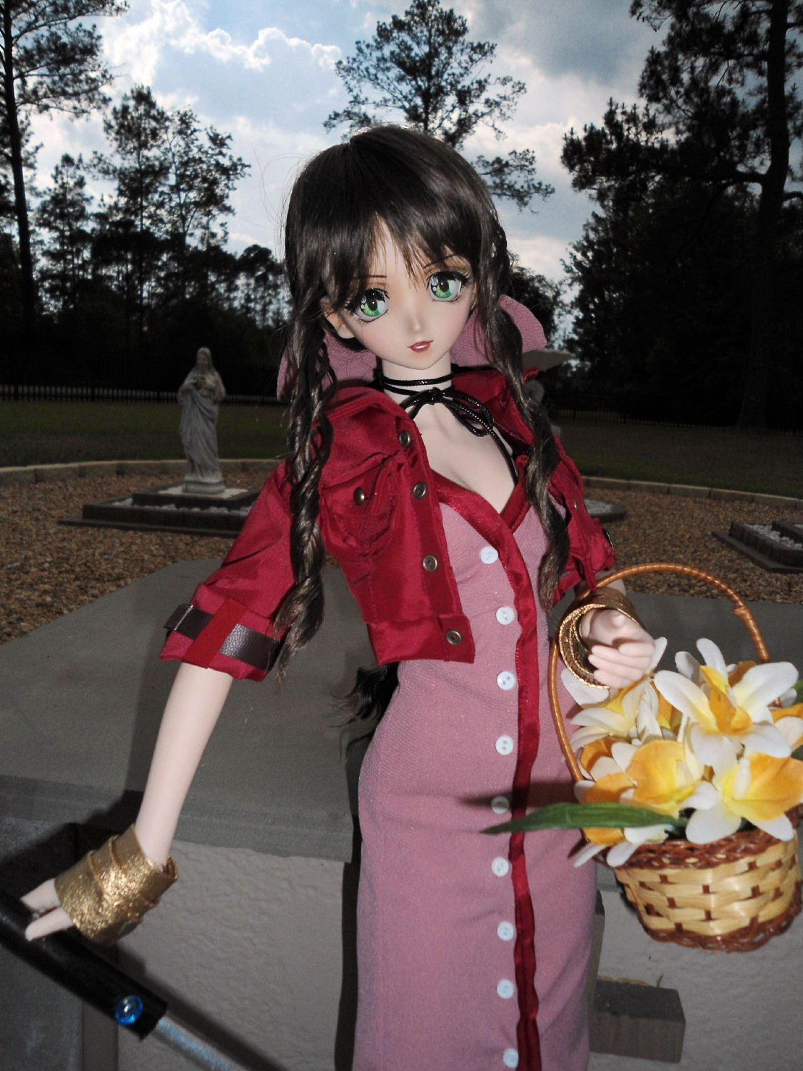 Aerith Gainsborough 24 Quot Volks Of Japan Doll