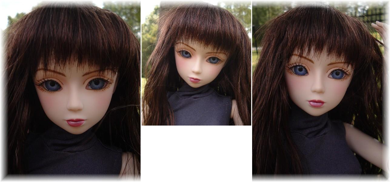 Obitsu Quot Gretel Quot Glass Eyed 24 Quot Dollfie Bjd Japan Doll