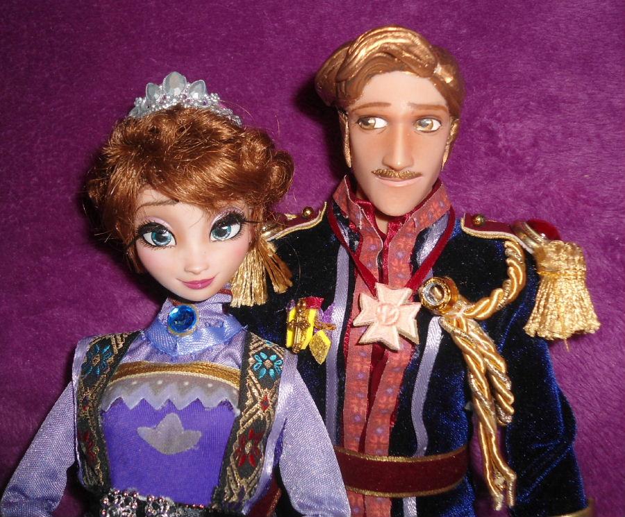 King Agdar Amp Queen Idun From Frozen 11 Quot Dolls