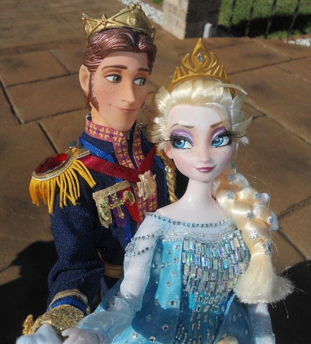 queen elsa  frozen  doll