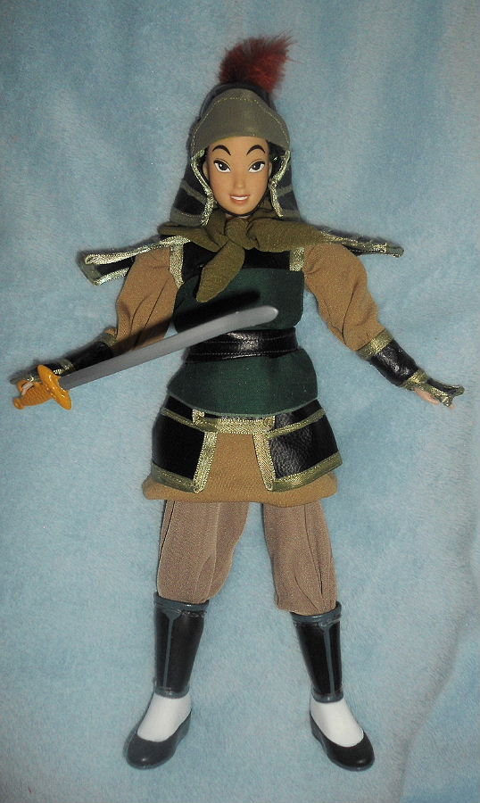 """About Us Icon >> Warrior Ping from Mulan 11"""" Doll!!"""