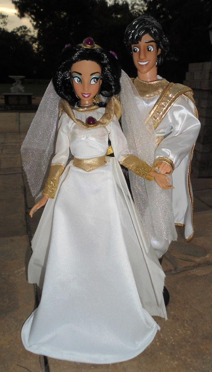 Wedding Aladdin & Jasmine 11\